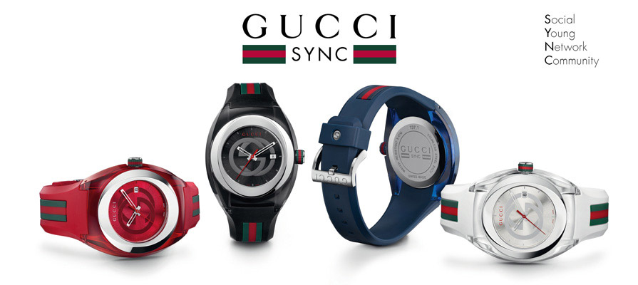 Gucci SYNC Collection