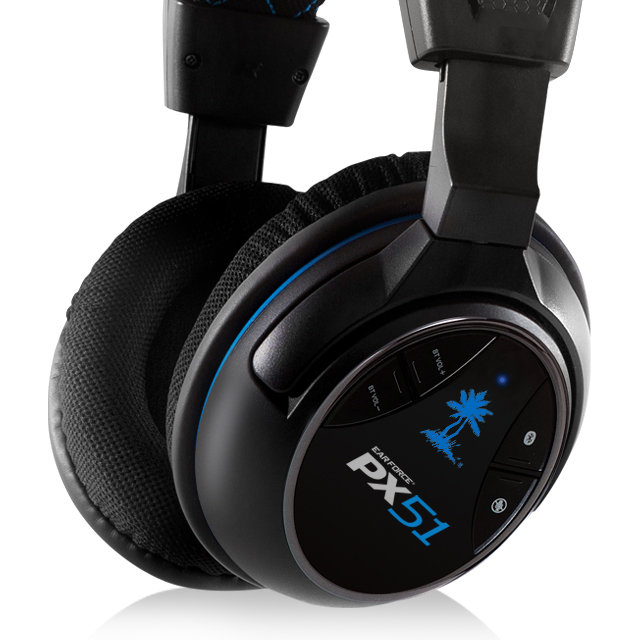 how to connect turtle beach px51 to pc