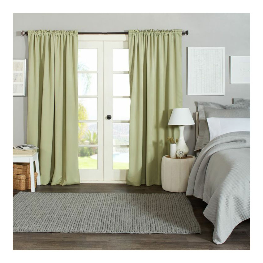 by Amazon Blackout Curtains 56 x 84 Inches - Sage, Set of 2: Amazon ...