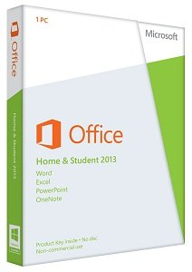 Microsoft Office Home And Student 2013 License Card 1 User Pc