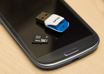 Lexar microSDHC Card Image 2