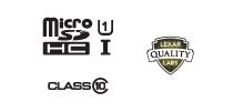 XQD and Lexar Logos