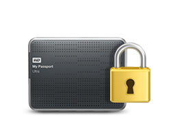 My Passport Ultra - Protezione con password