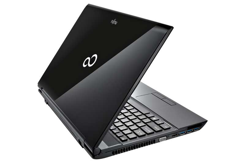 Fujitsu Lifebook Ah532 15 6 Inch Laptop Black Intel