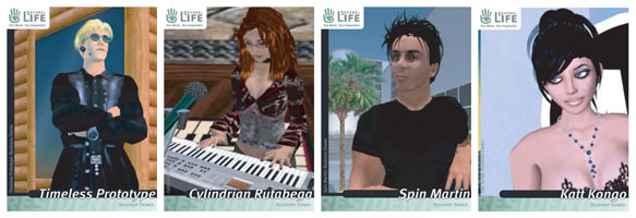 Second Life Trading Cards