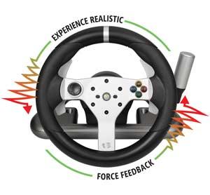 lenkrad mc wireless ffb racing wheel games. Black Bedroom Furniture Sets. Home Design Ideas