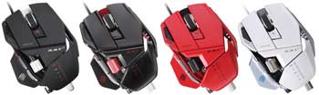 Mad Catz R.A.T. 7 Gaming Mouse - Available in Four Colours