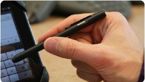 La penna Executive è perfetta per tutti i dispositivi touchscreen