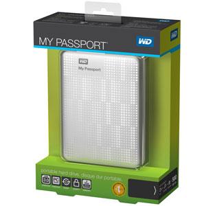 WD My Passport Essential Box