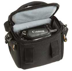Interior del bolso para videocámara