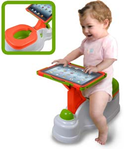 Cta Digital 2 In 1 Ipotty With Activity Seat For Ipad