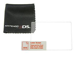 Chiffon de nettoyage et protection d'écran pour Nintendo 3DS