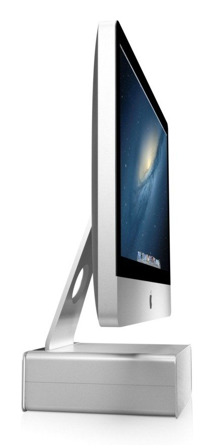 Twelve South Hirise For Imac Height Adjustable Stand With Storage For Imac And Apple Displays