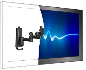 AmazonBasics B002TLTE6O - Soporte de pared para TV extensible, negro: Amazon.es: Electrónica