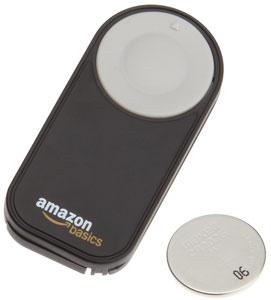 The AmazonBasics Wireless Remote for Nikon SLRs