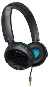 Philips O'Neill SHO8801/28 The Snug On-Ear Headphones (Black Ice)