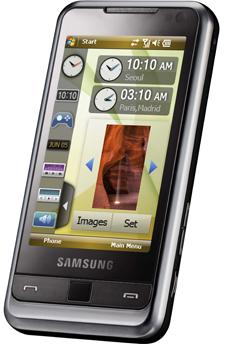 Samsung OMNIA specs (Meet Gadget)