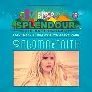Splendour Festival featuring Paloma Faith