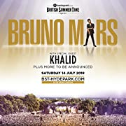 Barclaycard presents British Summer Time Hyde Park featuring Bruno Mars