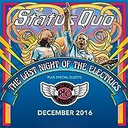 Status Quo The Last Night of the Electrics tour