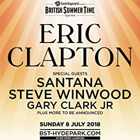 Barclaycard presents British Summer Time Hyde Park featuring Eric Clapton