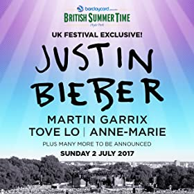 Barclaycard presents British Summer Time Hyde Park feat. Justin Bieber