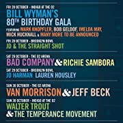 BluesFest presents Van Morrison and Jeff Beck