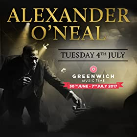 Alexander O'Neal at Greenwich Music Time