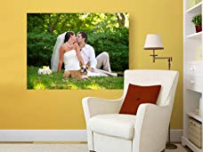 Personalised Landscape or Portrait Photo Canvas