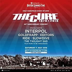 Barclaycard presents British Summer Time Hyde Park featuring The Cure