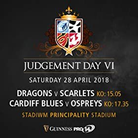 Guinness Pro14 Rugby--Judgement Day VI