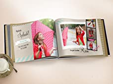 A Choice of a 50 or 98 Page Photobook with a Personalised Cover