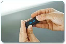 Fitbit Ultra Wireless Activity Plus Sleep Tracker (Black/Blue) Product Shot