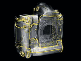 Nikon D3s digital SLR highlights