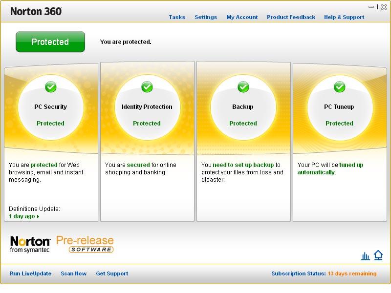 Norton 360 v3 0 br add on pack br