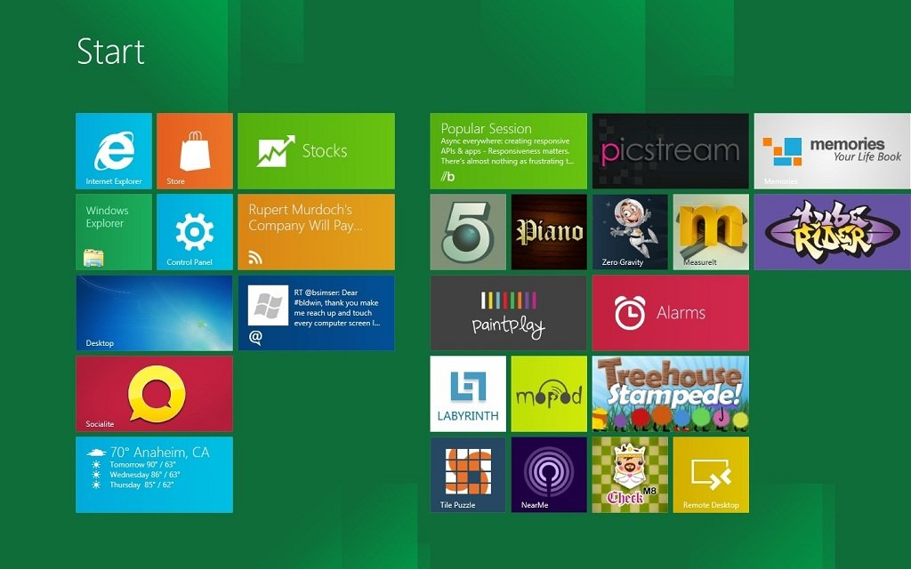 Windows reinventado