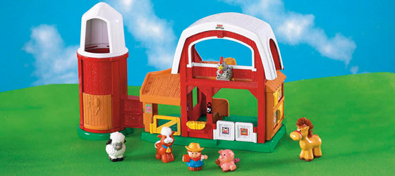 Fisher Price Little People Fun Sounds Farm Amazon Co Uk Toys Games