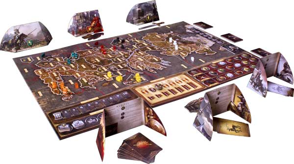 A Game of Thrones: The Board Game SecondEdition Product Shot