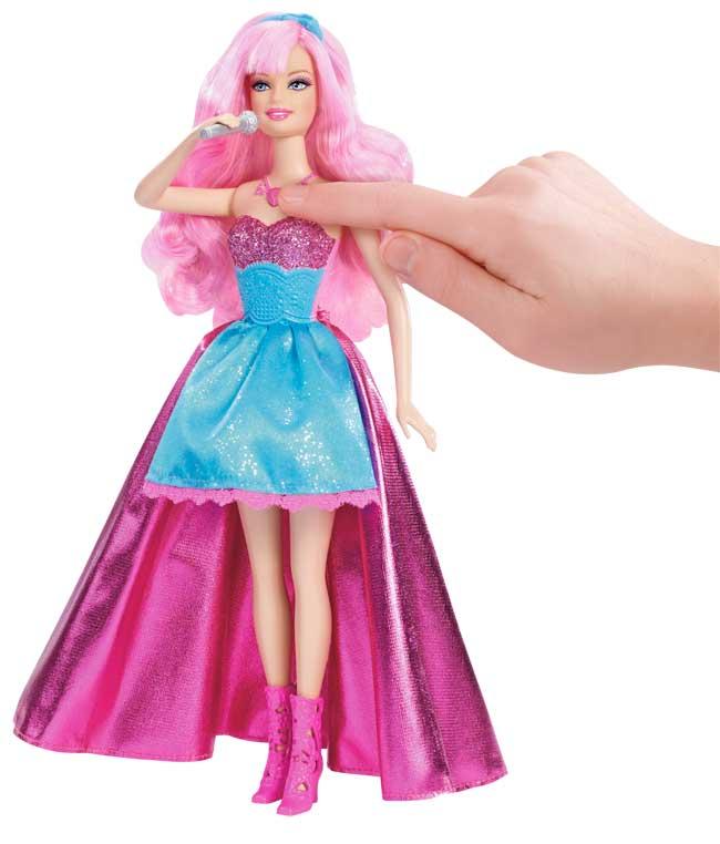 Barbie Princess Popstar Tori Microphone dp BRMCO