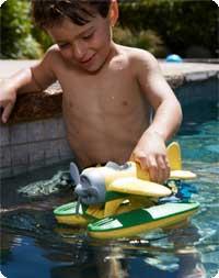 Green Toys Seaplane (Yellow)