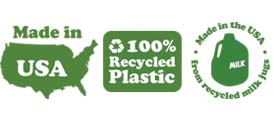 Green Toys - Made in USA - 100% Recycled Plastic