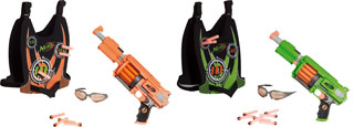 nerf dart strikefire set