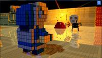 Battle classic 8-bit enemies