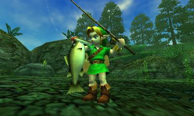 The Legend of Zelda: Ocarina of Time 3D (Nintendo 3DS