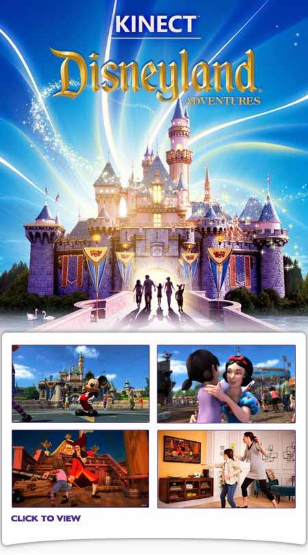 Kinect Disneyland Adventures (Xbox 360): Amazon co uk: PC
