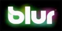 'Blur' game logo
