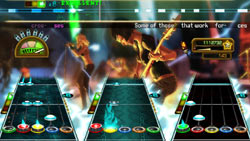 A 48-song setlist in 'Guitar Hero: Greatest Hits'
