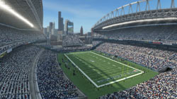 Seattle's Qwest Field in 'Madden NFL 10'
