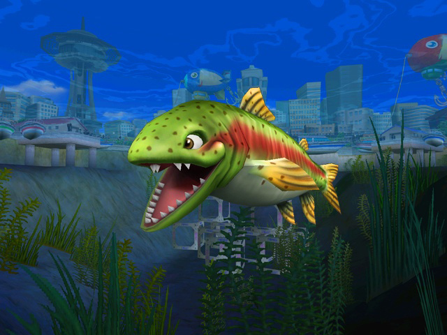 Rapala we fish wii pc video games for Fish in the amazon
