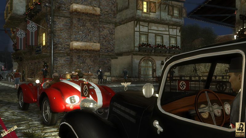Download The Saboteur Xbox 360 ISO Free Full Version